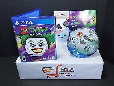 PS4 LEGO DC Super Villains Deluxe Edition