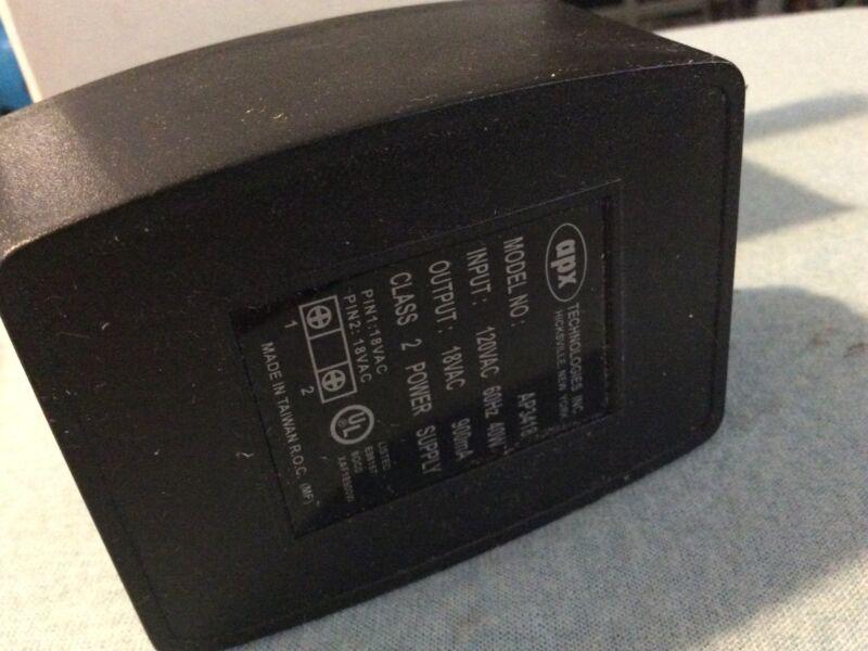 3 APX 18V AC ADAPTER Power Supply, 40 Watt 900 mAmp, 18VAC Transformer 60 Mh