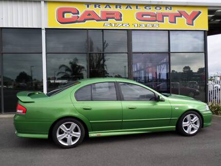 2004 Ford Falcon XR8 BA Sedan Traralgon East Latrobe Valley Preview