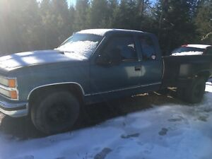 1992 Chevy Dually 6.0 Swap