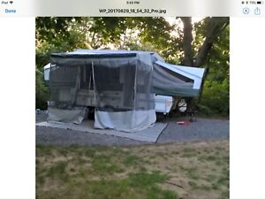 2004 Flagstaff model 620 tente roulotte / tent trailer