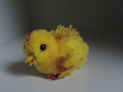 Steiff, Woll-Kuecken,Woolen-Chick,liegend,Wolltier,Wollminiatur, mit KF