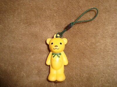 Tully's Coffee yellow Teddy Bear Led Light Charm Keychain Japan Promo Giveaway](Led Giveaways)