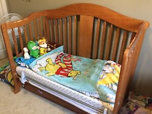 Crib (3 in 1), change table and Rocking chair w/ ottoman.