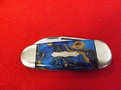 """Frank Buster Soligen Germany Fighting Rooster """"Michigan Sunfish"""" Knife"""