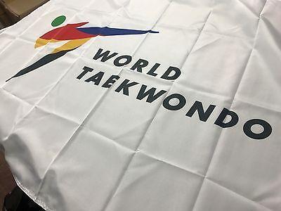 WTF Flag Korea TaeKwonDo Gym Uniform Dobok Bag TKD World Tae Kwon Do Federation