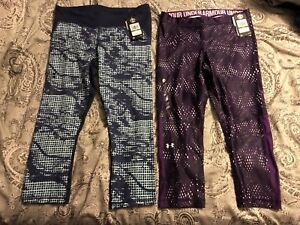 Under Armour women's workout capris - new with tags, size large