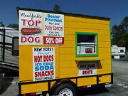 Mobile Concession Trailer