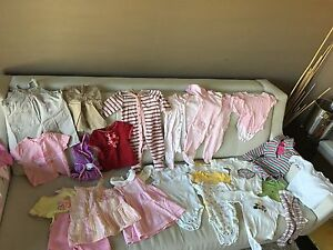 Lot of baby girl clothes - 3-6 months