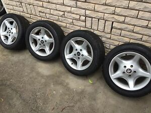 """HOLDEN VP VR CLUBSPORT COMMODORE 16"""" ALLOYS Rims tyres 225/50/16 VR VS Sunshine Brimbank Area Preview"""