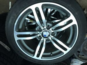BMW alloy wheels and winter tires for sale