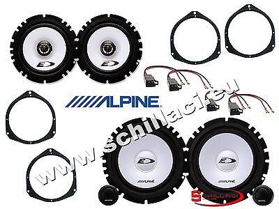 6 altavoces para coche 500X 500 X cinquecento Alpine