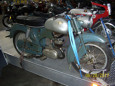 1959 Other Makes 125 Cc Rebel  1959 Horex 125 Cc Rebel Sachs Orig Engine Orig Paint For Restoration