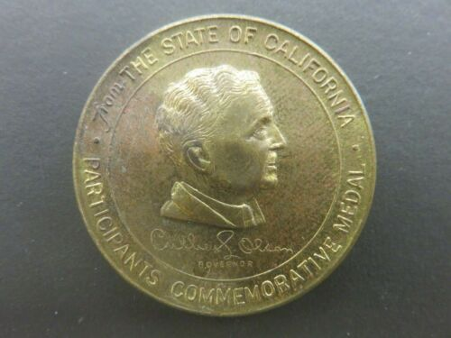 California Commission Golden Gate International Exposition Participation Medal