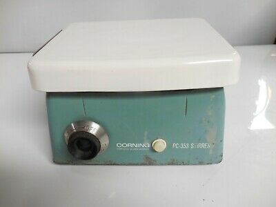 Vintage Corning Pc-353 Laboratory Magnetic Stirrer 6 X 7 Top Plate