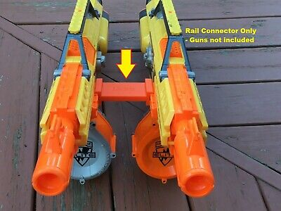 Nerf Compatible SSWI GRANDE Tactical Rail Connector Joiner  2 Guns Side by Side