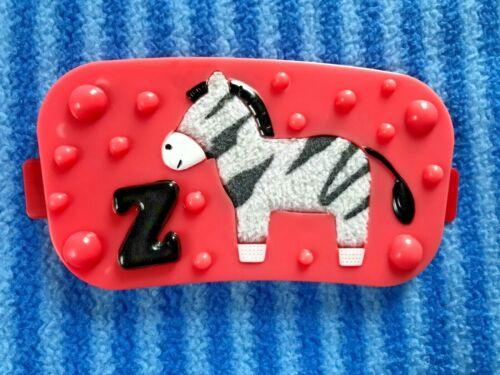 Evenflo Mega Jungle Safari Exersaucer Fuzzy Zebra Toy Replacement Part