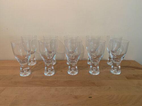 Vintage Tapio Wirkkala Cocktail Glasses Iittala Finland Scandinavian - Set of 10