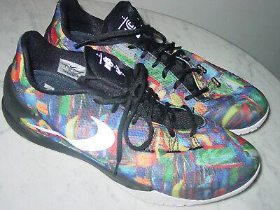 finest selection e3ac6 b24dd 2014 Mens Nike Hyperchase PRM QS NCS Multi-Color Black Basketball Shoes!  Size 14