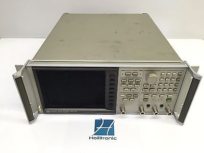 Hp Agilent 8753a Vector Network Analyzer 300khz-3ghz Opt 010