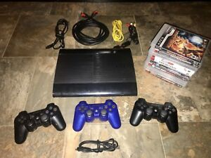 Unused Sony PS3 and Accessories + 10 Like New Games-$380