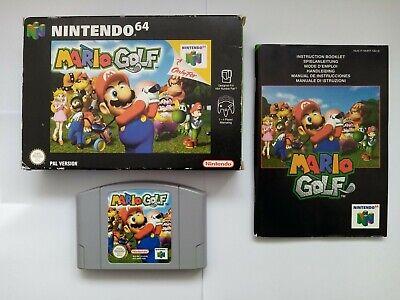 Mario Golf - Boxed - Nintendo 64 - N64
