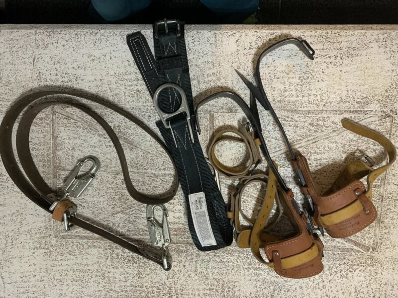 Buckingham Climbing Spikes Miller Belts