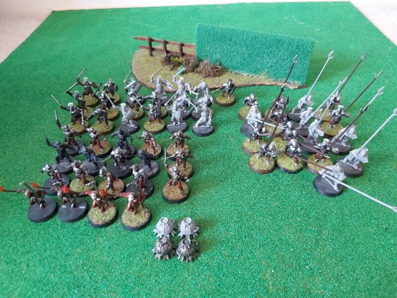 Lord of the rings warhammer Uruk Hai Army X55