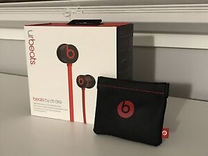 Black / Red - urbeats by Dr. Dre Headphones