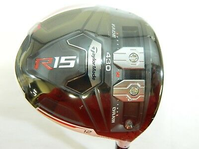 Used, New Taylormade R15 430 White 12* Driver Aldila Tour Blue 65 - Stiff flex for sale  Shipping to India