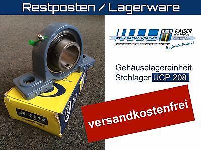 10 Stück Gehäuselagereinheit, Stehlager, Lagerbock, UCP 208, 40mm Welle