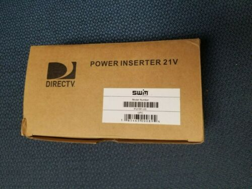 Direct TV Power Inserter SWM ODUModel: PI21R1-03 SWIM Cord Original BOX ATT