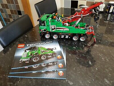 LEGO TECHNIC USED EX-DISPLAY SERVICE TRUCK 42008 POWER FUNCTIONS - PNEUMATIC