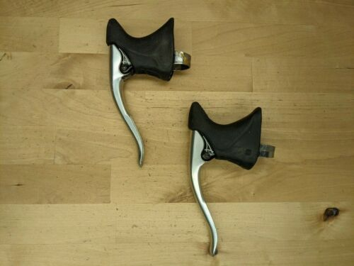 Dia Compe Aero Gran-Compe Brave Levers Black Vintage Japan L + R N1
