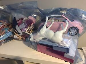 Barbie House Barbies and Accessories