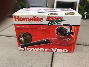 New Hand held gas leaf blower