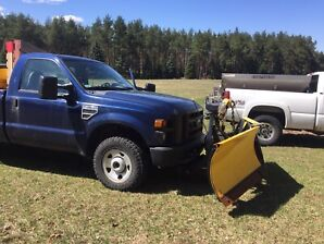 2010 Ford F-250 single cab with vblade plow and 7' fisher salter