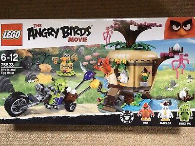 Lego Angry Birds Movie No 75823 Bird Island Egg Heist New& Sealed
