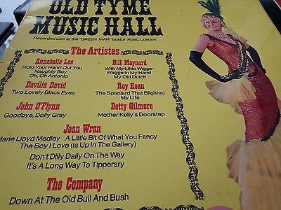 VARIOUS ARTISTS Olf Tyme Music Hall LP 1972 Sound Clip in Listing