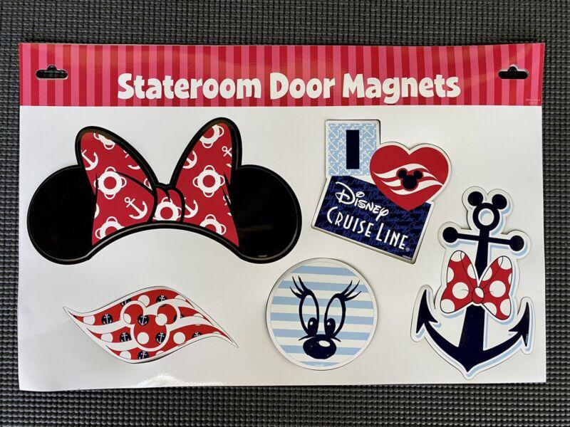 Disney Cruise Line Minnie Mouse Stateroom Door Decor (5 Pieces) Magnet Set