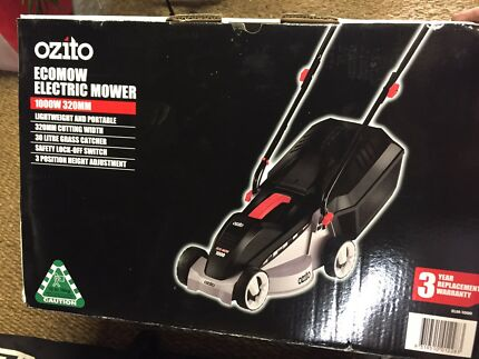Brand new electric mower for sale
