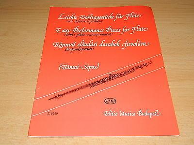 Leichte Vortragsstücke für Flöte mit Klavierbegleitung - Editio Musica Budapest