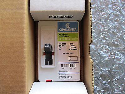 Challenger Ceh2200 Circuit Breaker 2 Pole 200 Amp 240v 6610c90g05 New