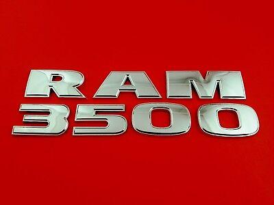 09 10 11 12 14 15 16 DODGE RAM3500 SIDE DOOR EMBLEM BADGE SYMBOL LOGO OEM (2014)