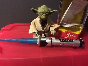 Star Wars Interactive Yoda with Lightsaber