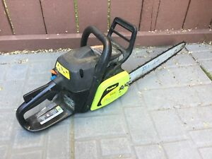Poulan - unable to get running chainsaw