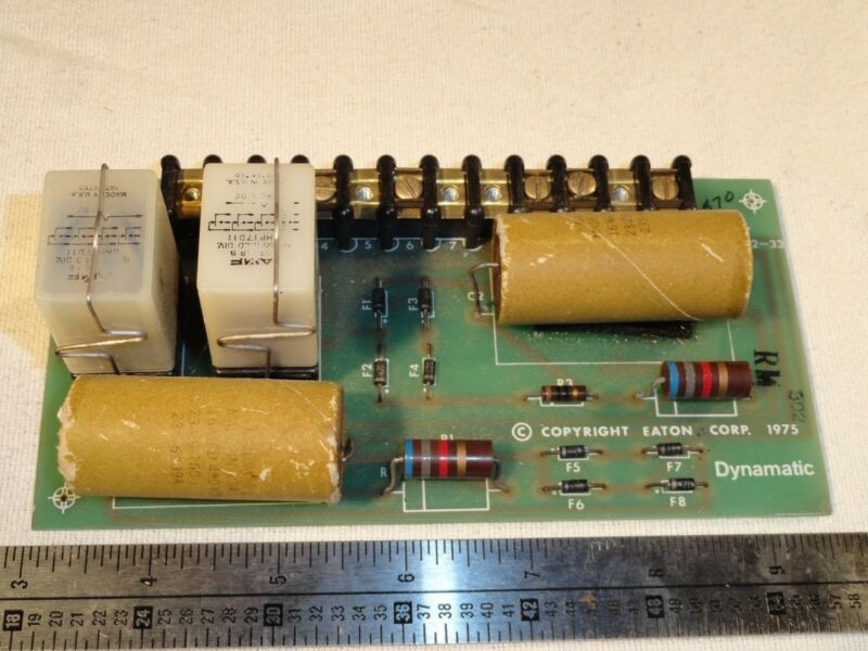 DYNAMATIC EATON 15-242-33 70-68-31 Circuit Board PCB