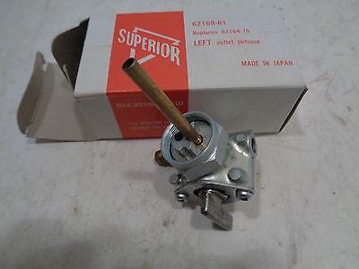 62169-81 RPL HARLEY-DAVIDSON & CUSTOMS SUPERIOR LEFT OUTLET PETCOCK/GAS VALVE