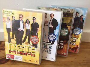 CSI: Miami DVDs - Season 1-4 Wantirna South Knox Area Preview