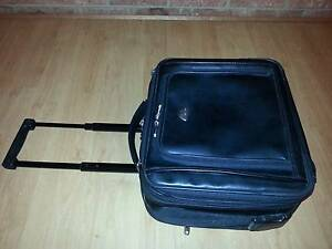 Samsonite Leather Rolling Mobile Office Wheel Bag Hughesdale Monash Area Preview